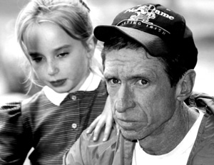 Peter DeMott with daughter Kate, May 1996